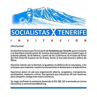 Socialista x Tenerife